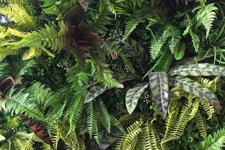 Artificial Greenwall Rainforest 03