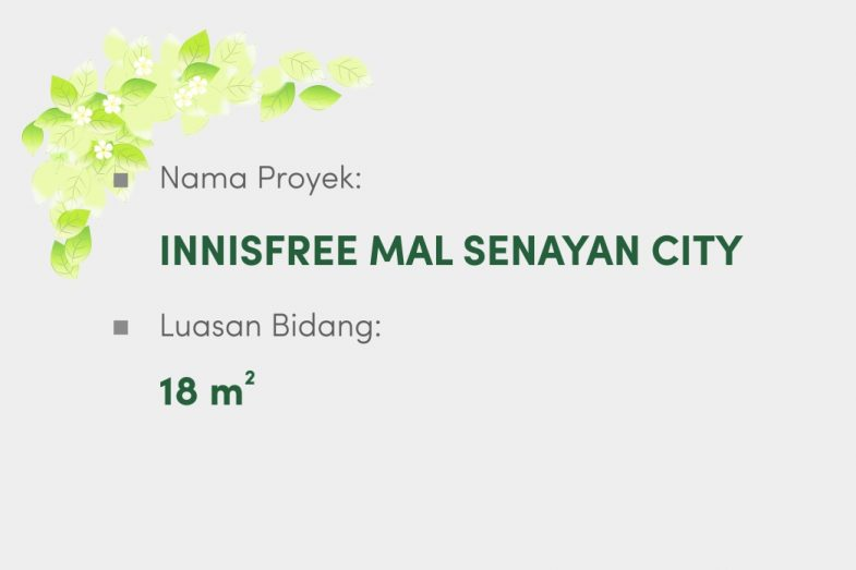 Innisfree Mal Senayan City