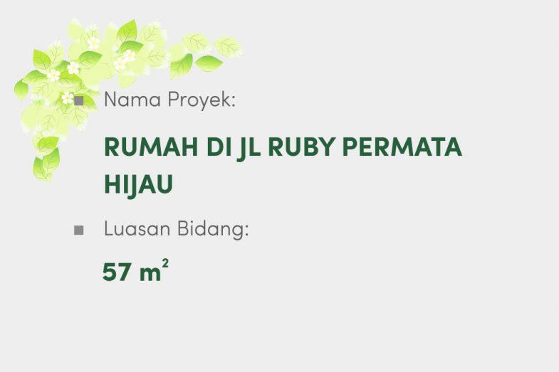 Rumah Di Jl Ruby Permata Hijau
