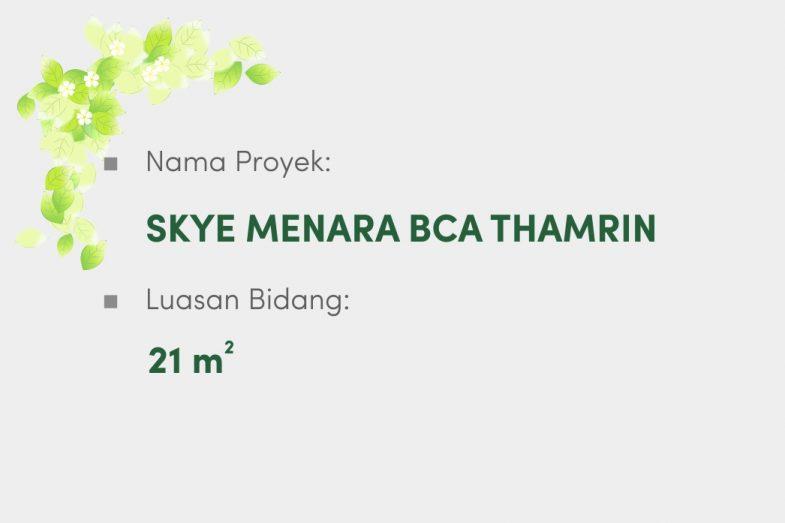 Skye Menara BCA Thamrin